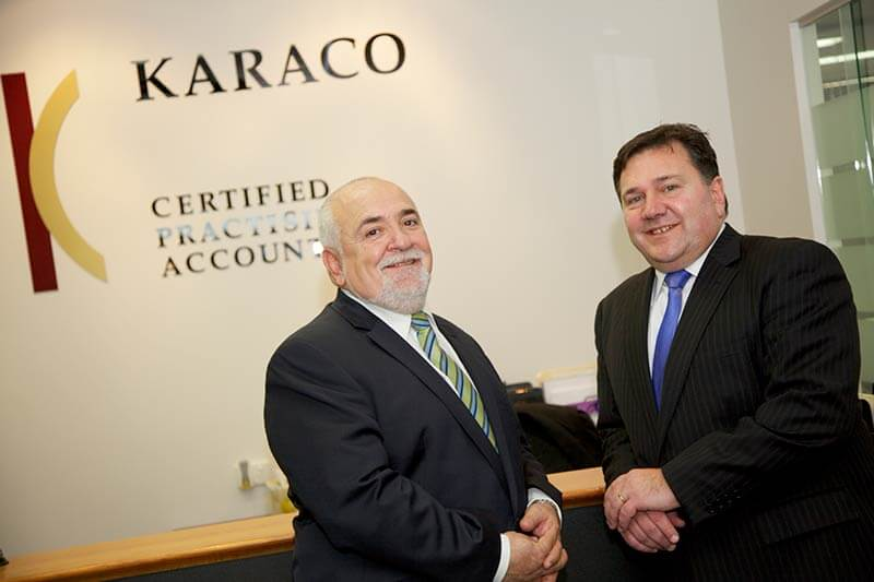Karaco Partners Tony Giannopoulos and Jim Karakoussis